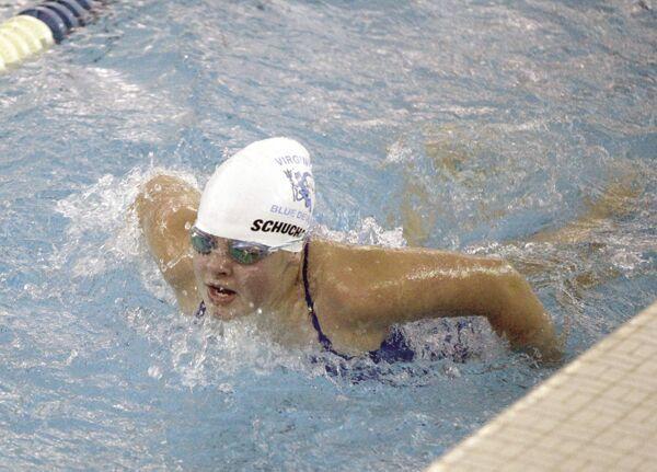 blue devils girls swimming