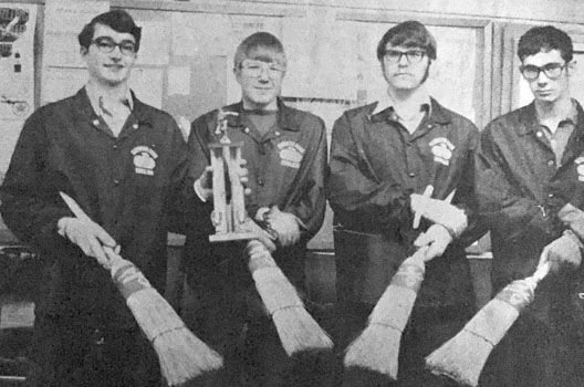 HHS curling continued to succeed in mid-seventies