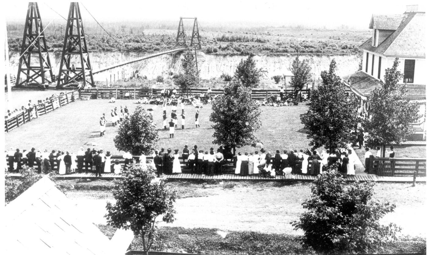 STEVENSON SWINGING BRIDGE
