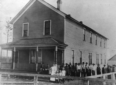 The Carson Lake Boarding House
