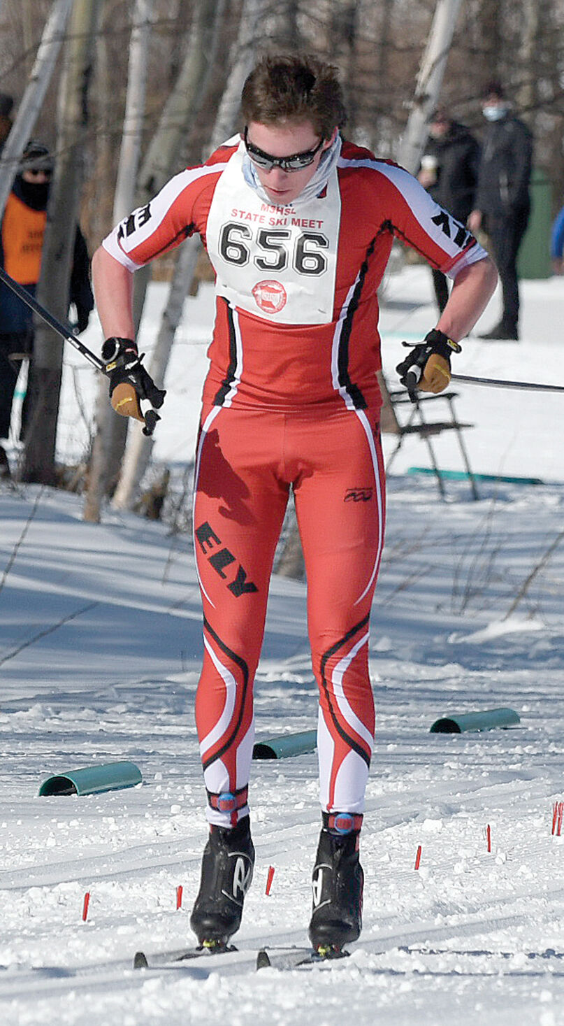 Ely's Johnston takes 5th at state Nordic meet