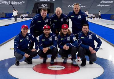 International ordeal for curlers