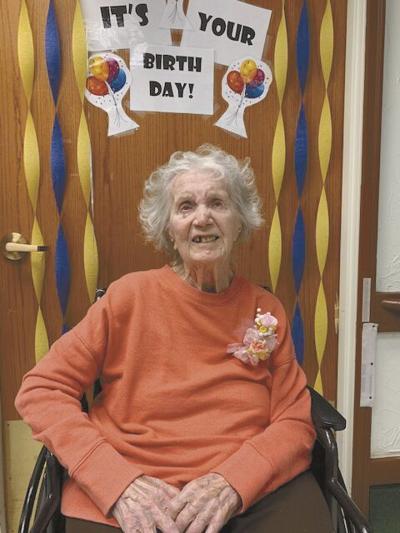 Rose Corradi turns 100