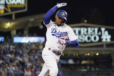 APTOPIX NLDS Giants Dodgers Baseball