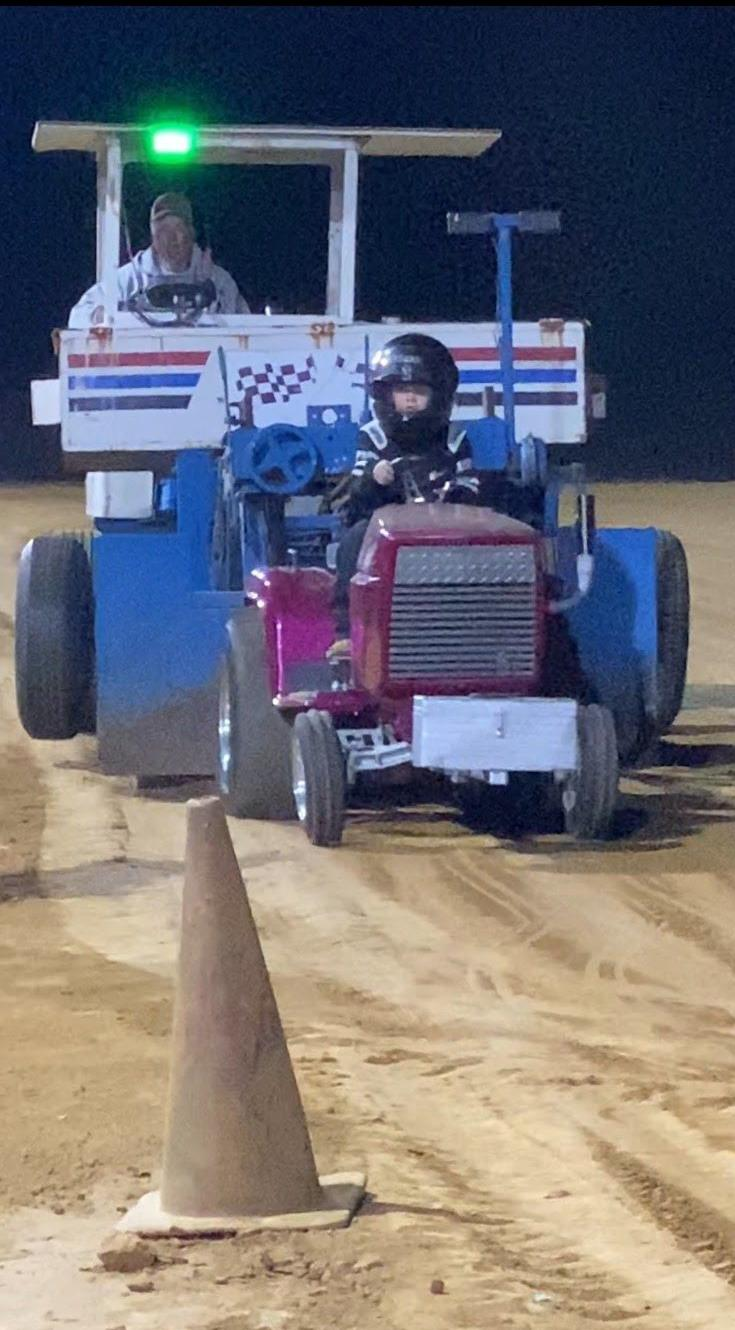 Unexpected Pull: Calhoun's Downhill Pulling Track continues to grow