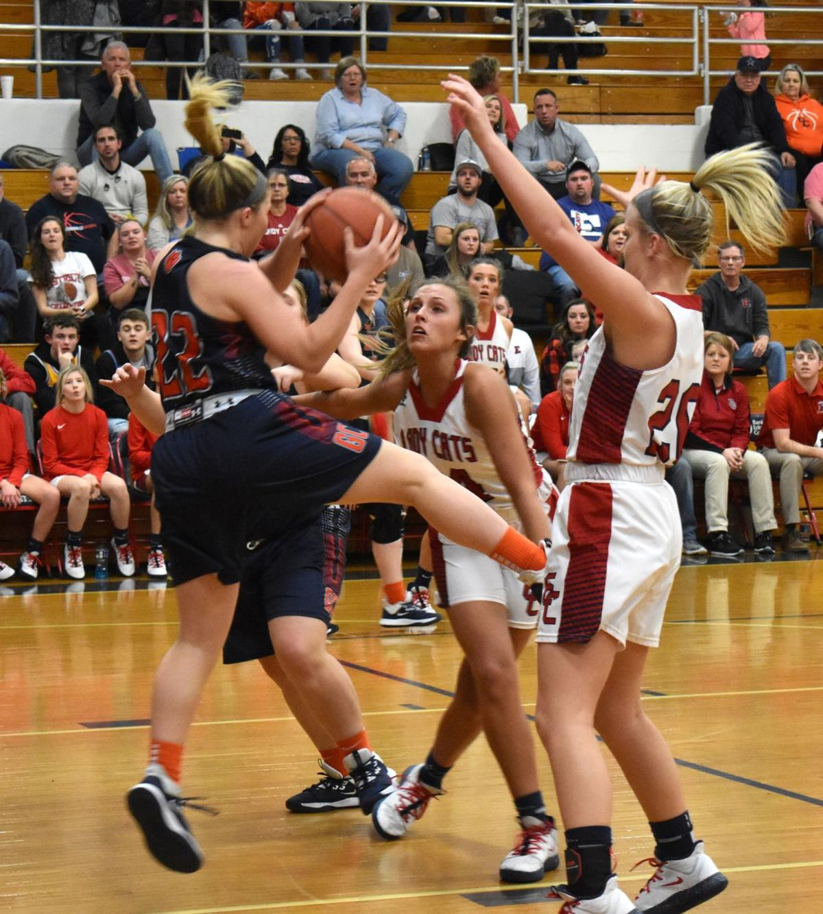 Lady Cougars take tough loss on the road 2