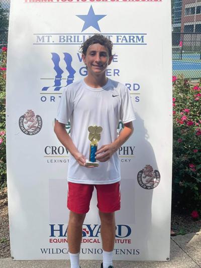 Brown competes in USTA Ryan Holder Tournament 1