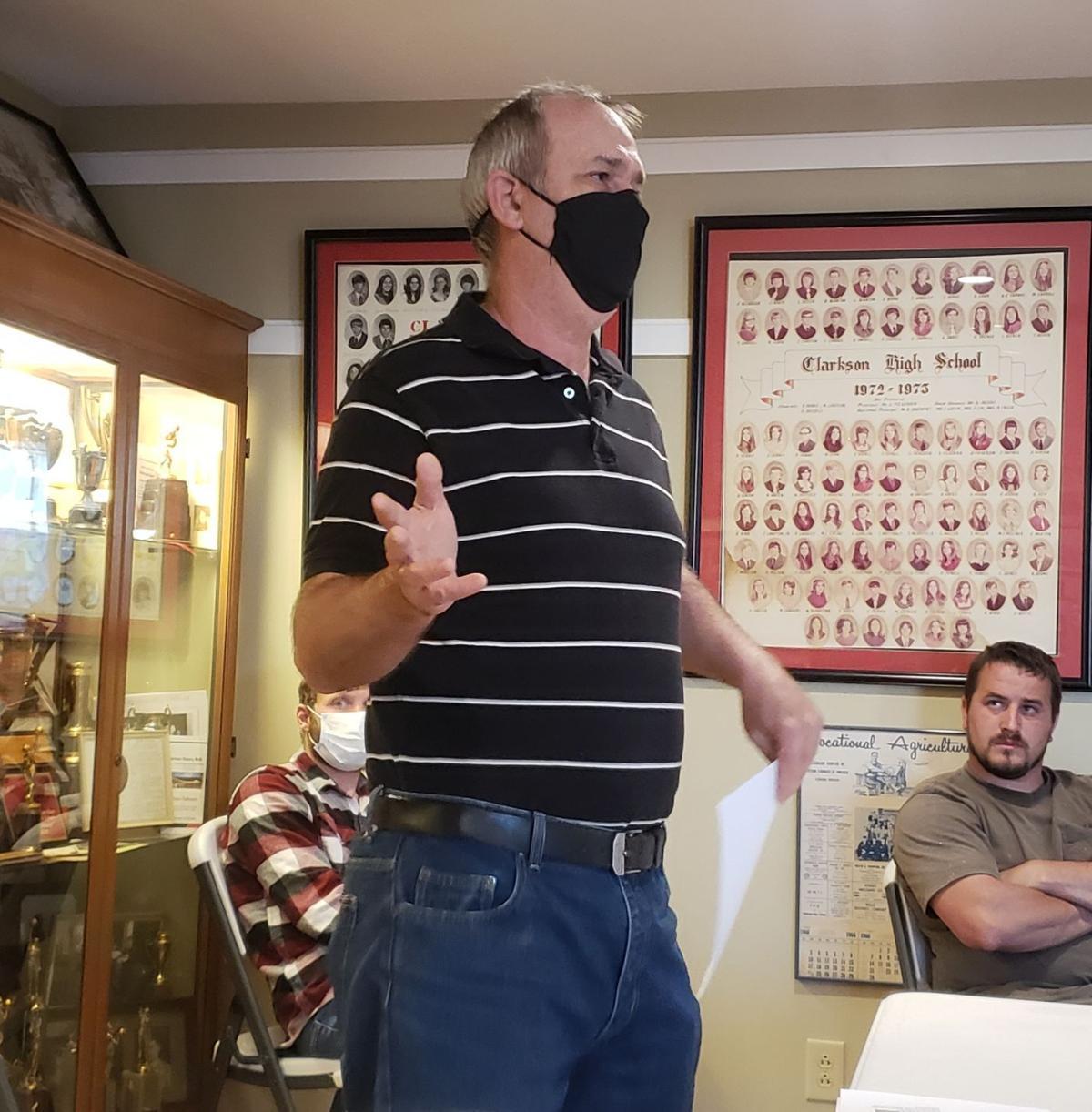 VFW to build memorial in Clarkson 1