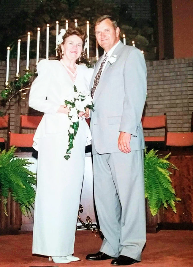 Doris and Roy Adams Sr.