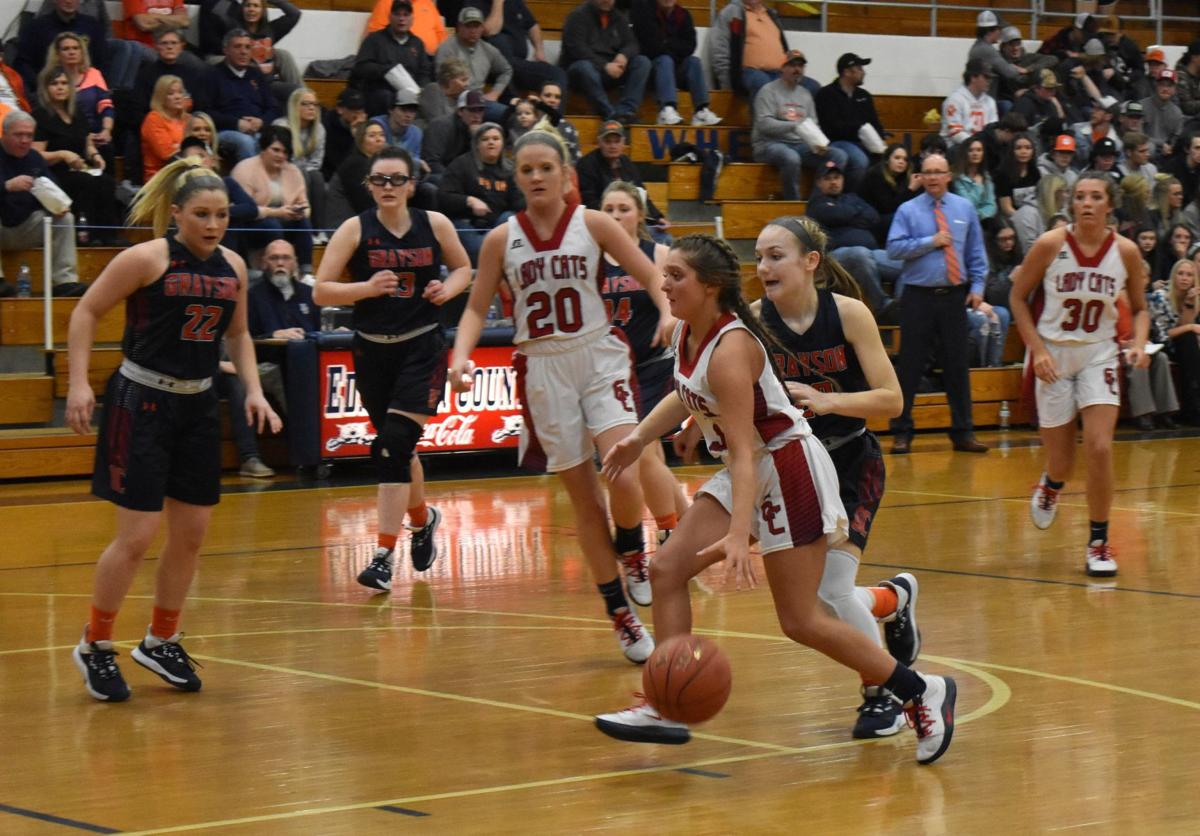 Lady Cougars take tough loss on the road 1