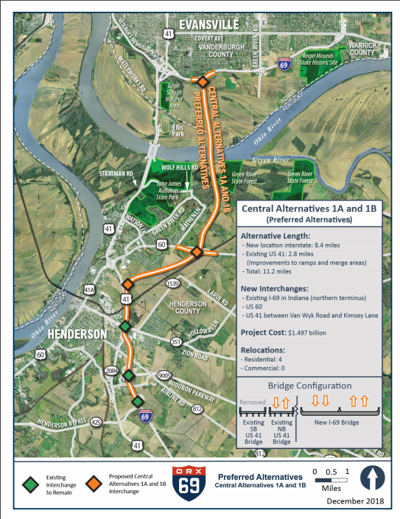 Dame expresses support for I-69 Ohio River crossing project