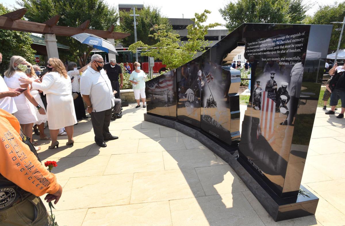 City unveils Gold Star Families monument