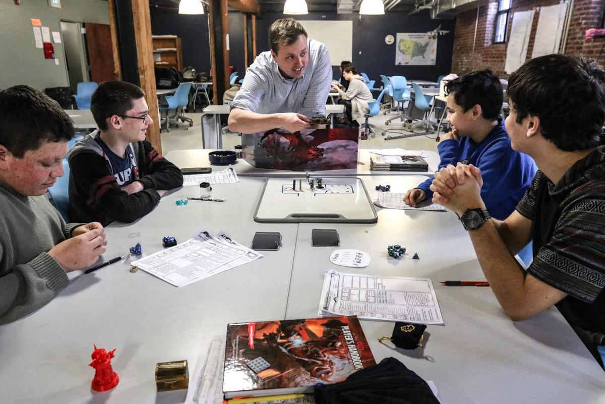D&D provides sense of belonging, teaches social skills