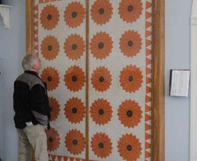 Local church expresses pride over historical quilt pic