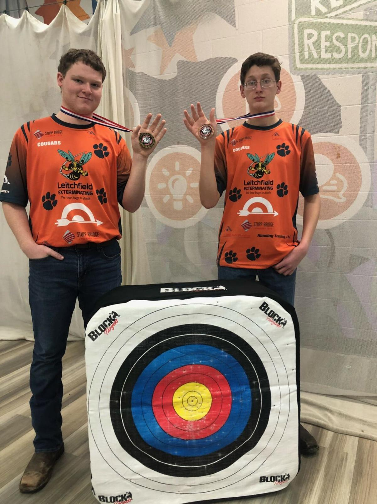 GCHS Archery takes first place in tourney 1
