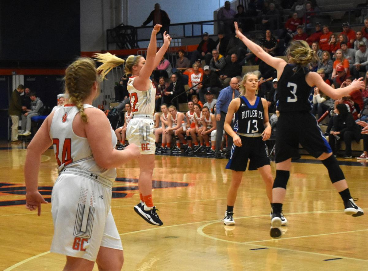 Lady Cougars send Lady Bears packing 1