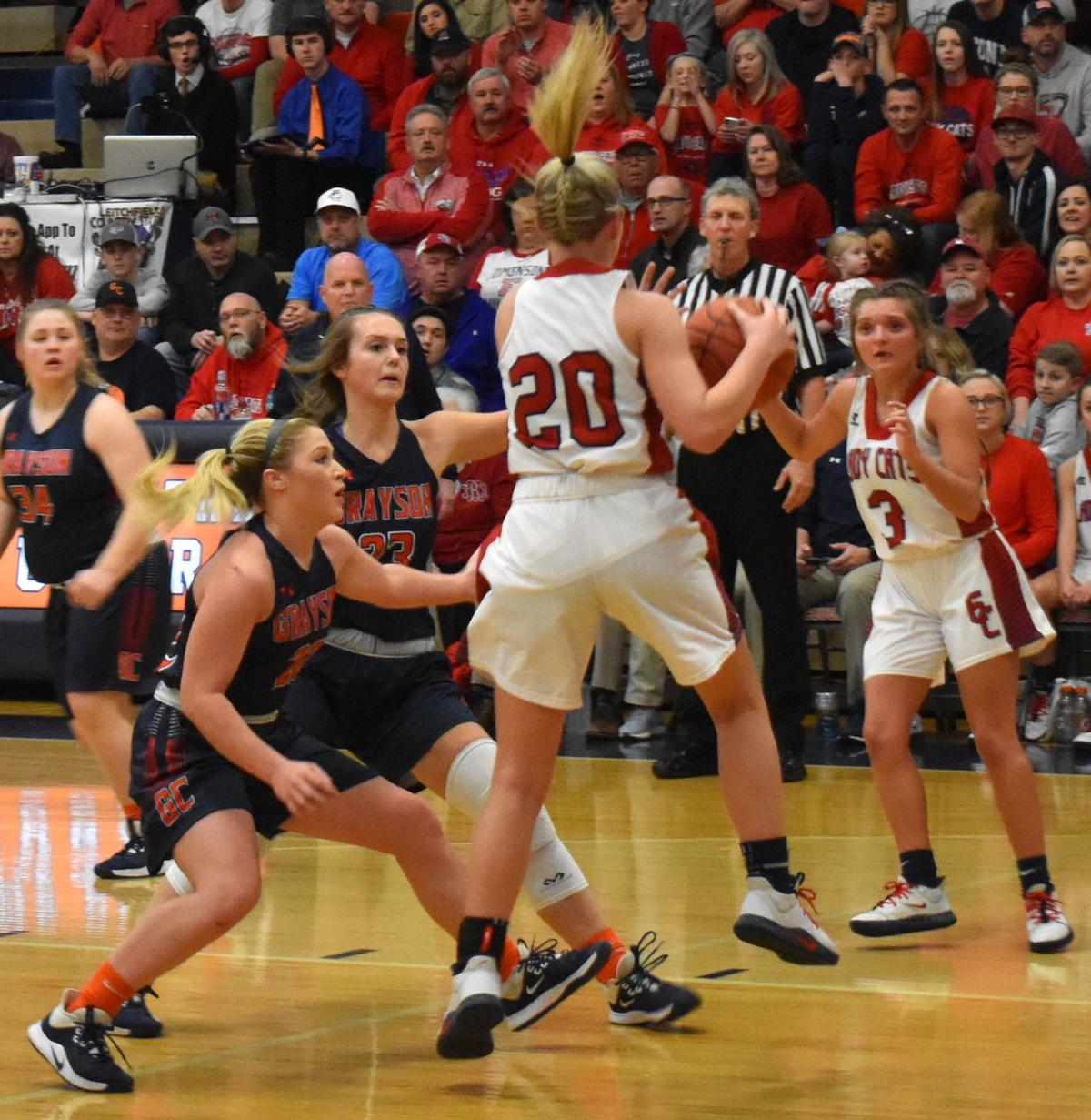 Lady Cougars fall at home in district final 2
