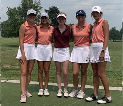 Girls' golf season underway 1