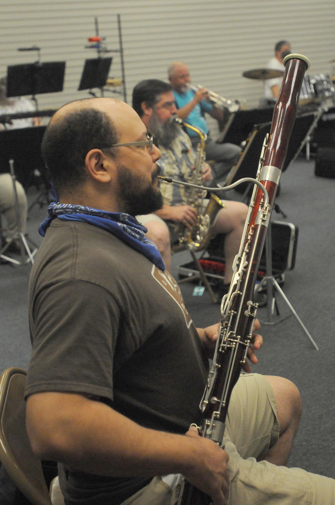 Band bassoon