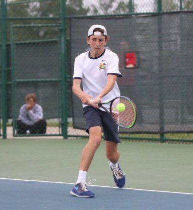 Cougar Tennis wraps up regular season 1