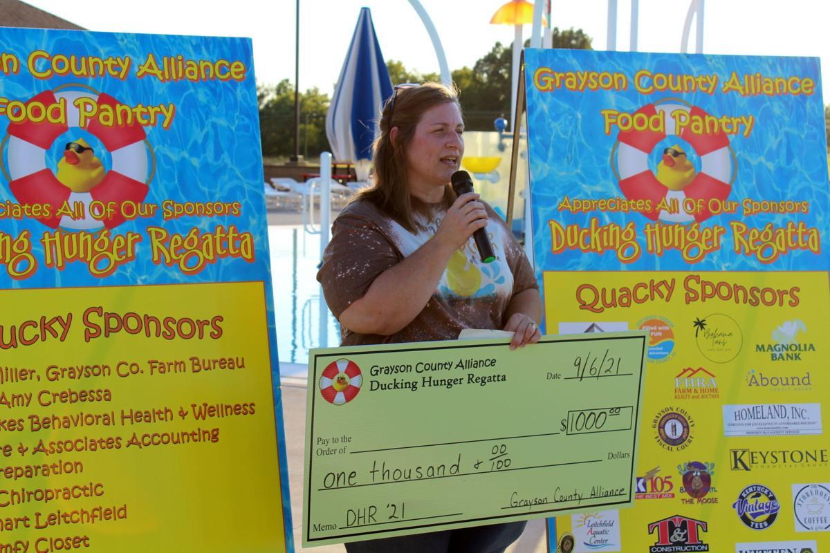 Regatta raises $8,600 for food pantry 2