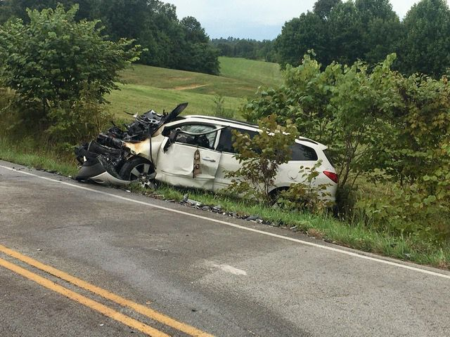 Two hospitalized after head-on crash 1