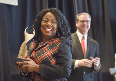 Randolph receives ATHENA award
