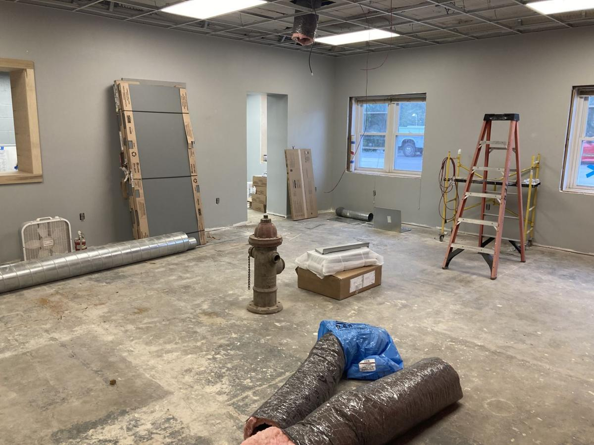 Fire department on track for September opening