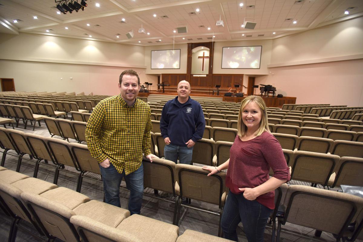 Spiritual Growth — Pleasant Grove Baptist unveiling new sanctuary on Sunday