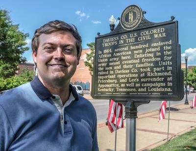 Historical marker for black soldiers gets little notice