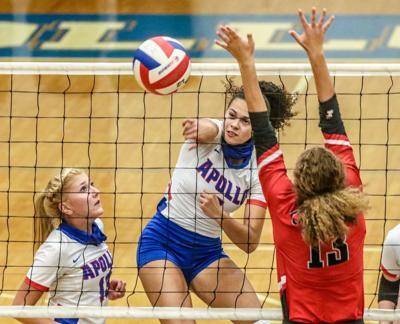 Apollo DCHS volleyball