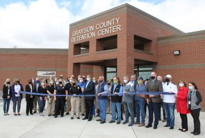 Jail cuts ribbon on new expansion 1