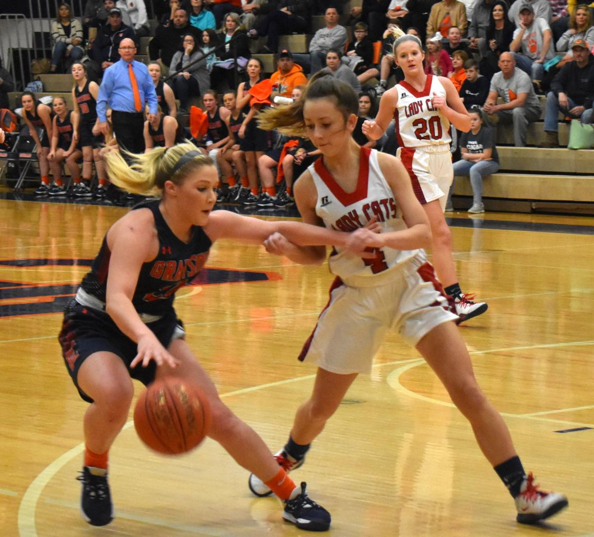 Lady Cougars fall at home in district final 1