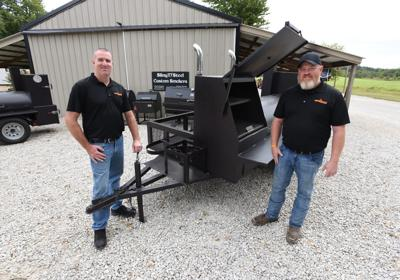 Smoke Products — Whitesville men find success with online custom smoker business