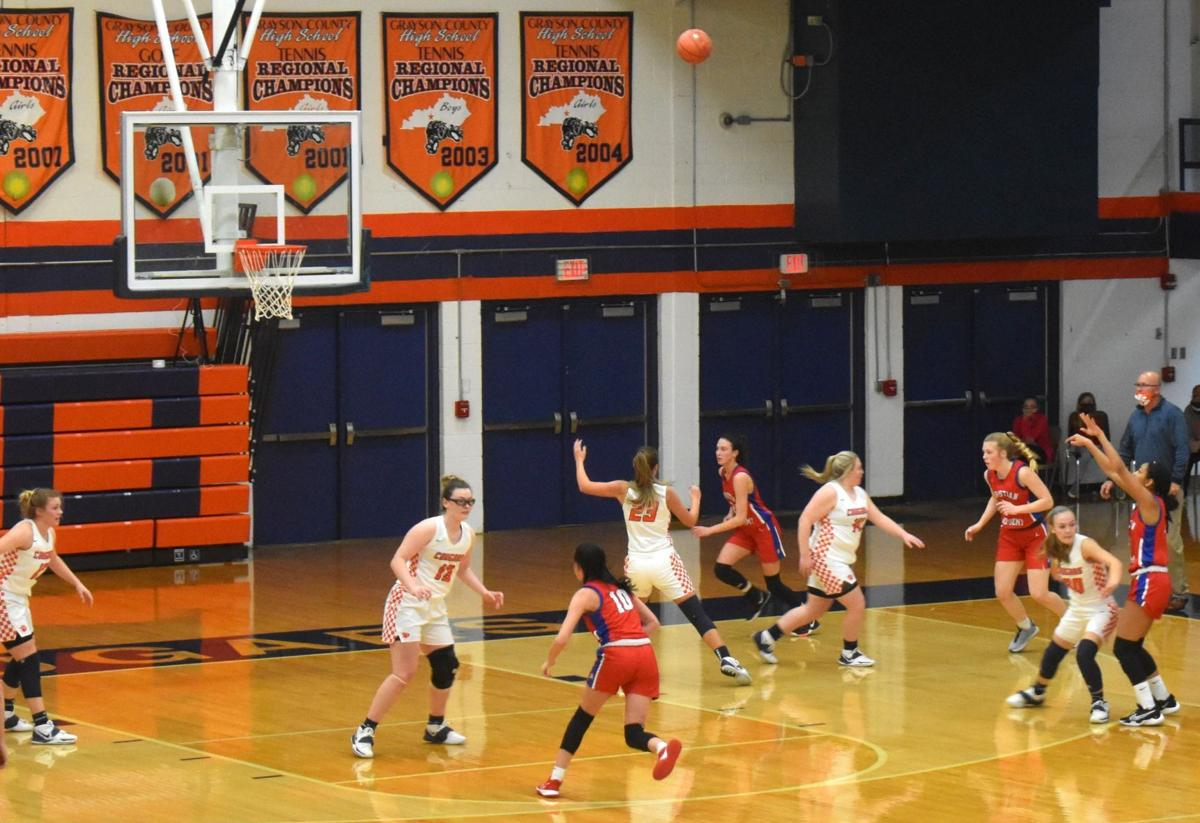 Lady Cougars fall to Lady Centurions, 42-60 1