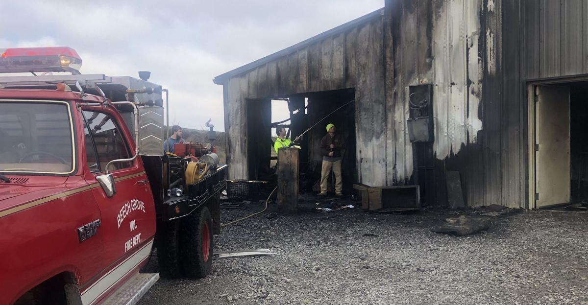 Beef and Bacon in Beech Grove catches fire
