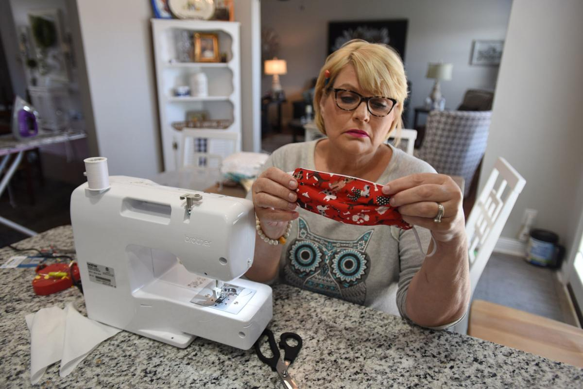 Local seamstresses stitch surgical masks for Owensboro Health front-line workers