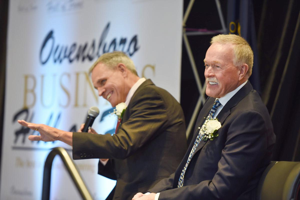 Three inducted into Business Hall of Fame