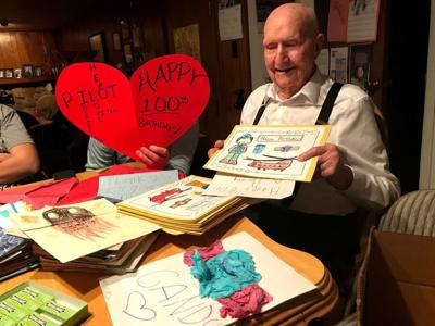 World War II-era 'Candy Bomber' turns 100. Those who caught his candy - now in their 80s - say thanks.
