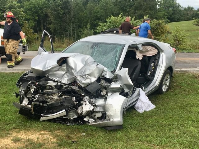 Two hospitalized after head-on crash 2