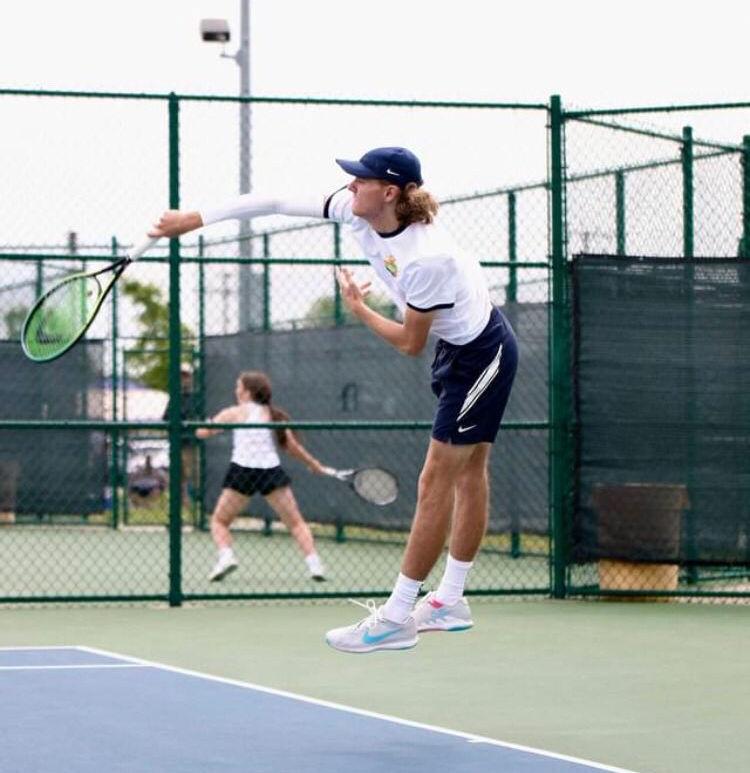 Cougar Tennis wraps up regular season 2