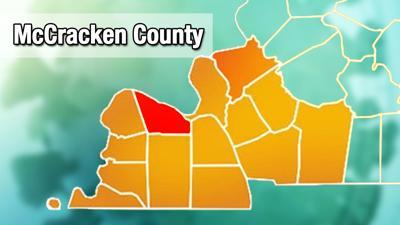 McCracken County COVID-19 map