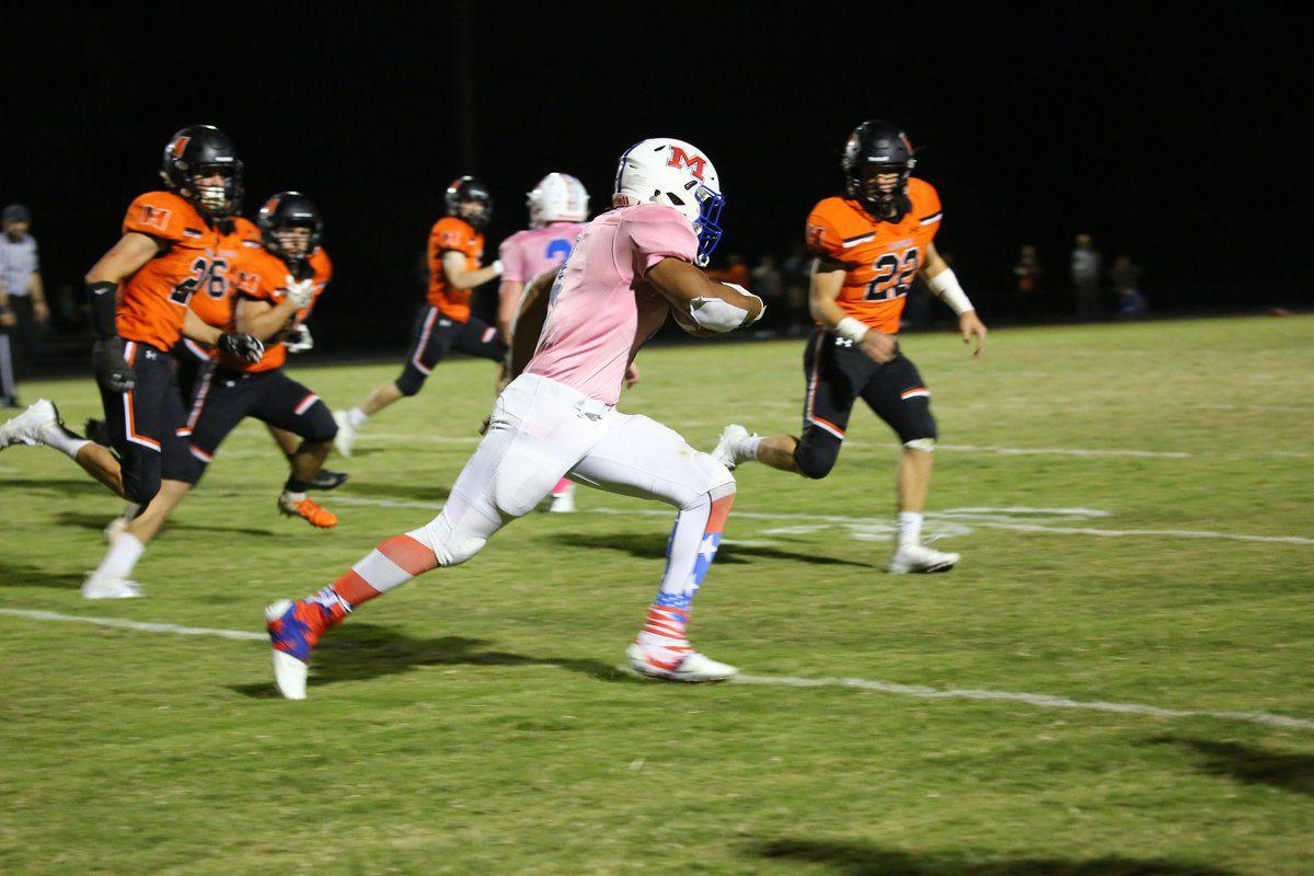 Herrin wins 28-26 in 'Pink Out' game