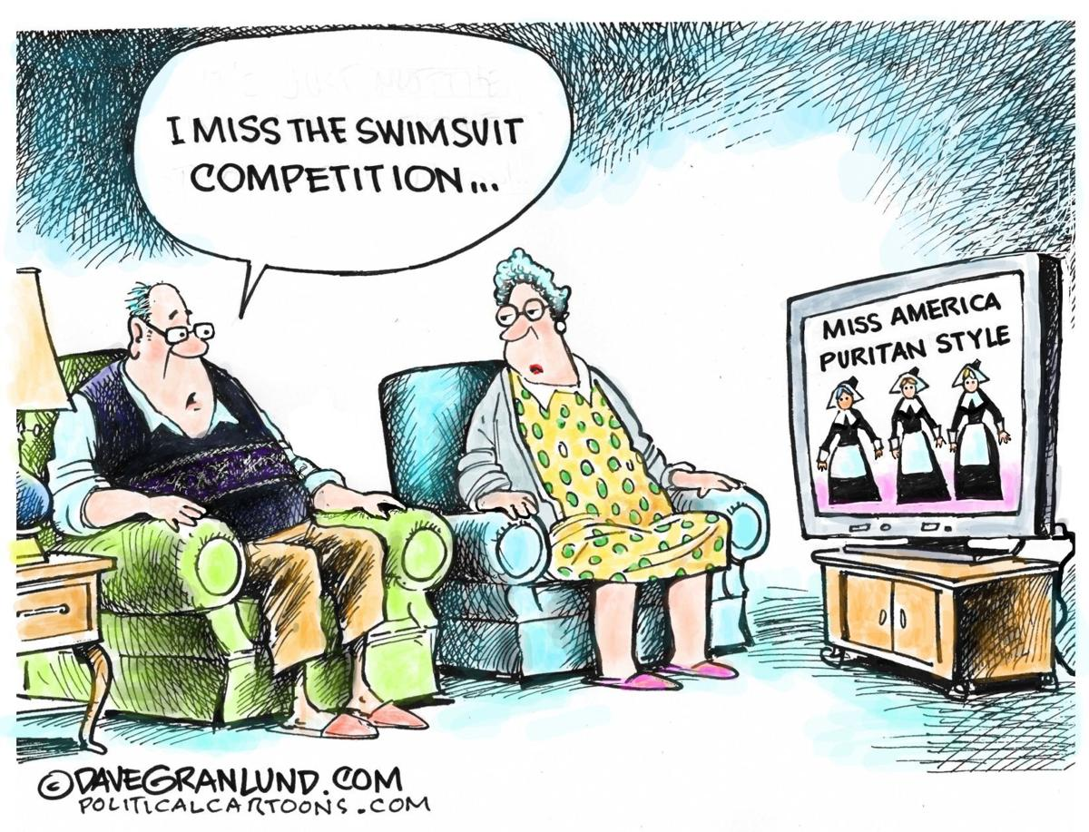 Graves editorial cartoon