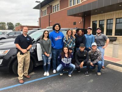 Criminal justice students get look at life in law enforcement