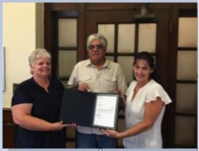 Hausman recognized for 45 years of service