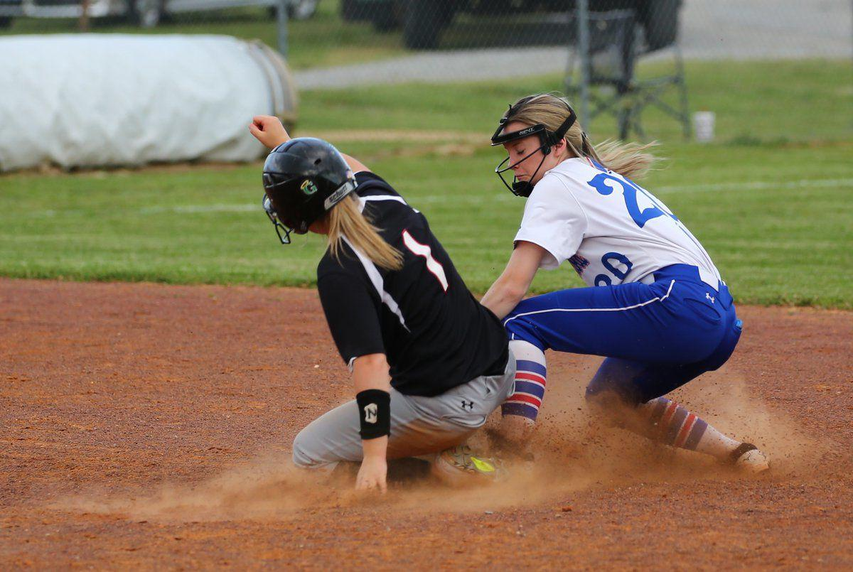 Patriots softball whips Johnston City, stumbles at Cobden 11-5