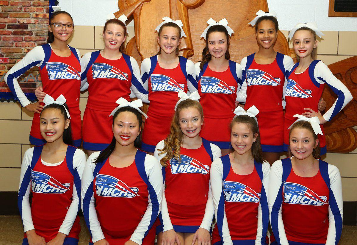 Massac County High School Cheerleaders