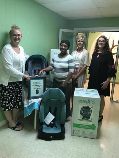 CNB donates funds to Hope Unlimited for infant car seats