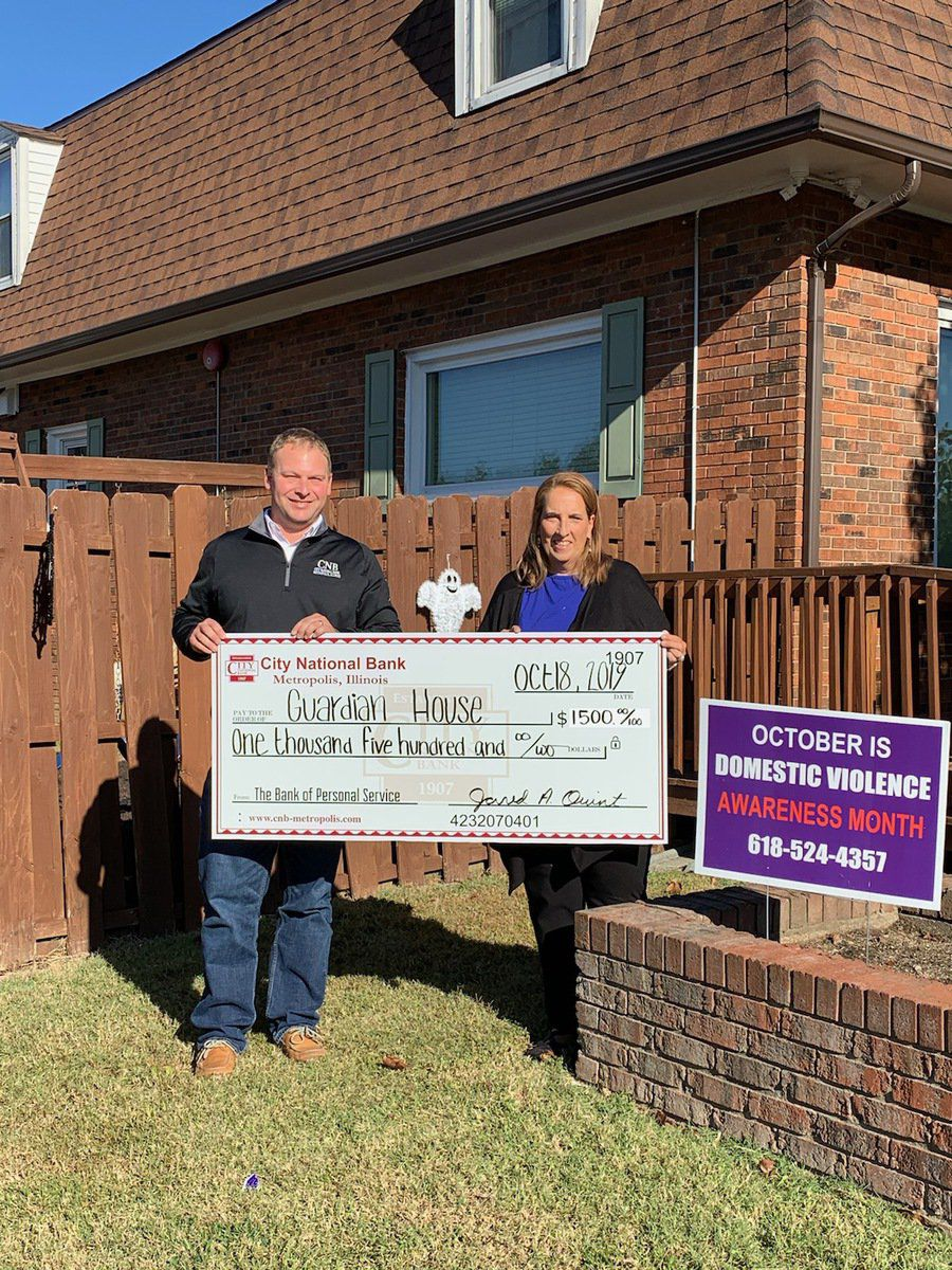 CNB donations help two worthwhile organizations